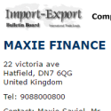 MAXIE FINANCE reviews and complaints