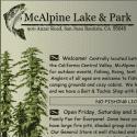McAlpine Lake And Park