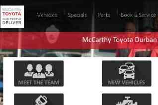 McCarthy Toyota Durban North reviews and complaints