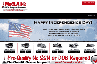 McClains RV reviews and complaints