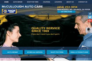 Mccullough Auto Care reviews and complaints
