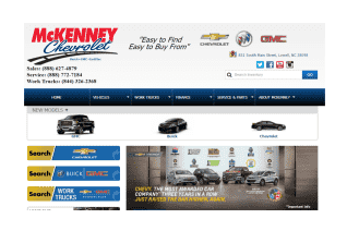 Mckenney Chevrolet reviews and complaints