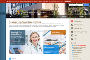Medical Board Of California reviews and complaints