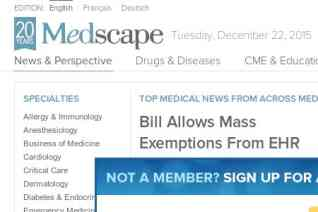 Medscape reviews and complaints