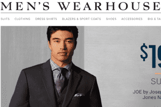Mens Wearhouse reviews and complaints