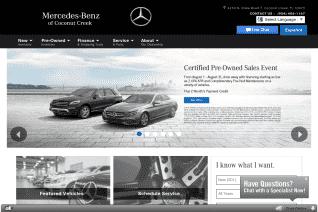 Mercedes Benz Of Coconut Creek reviews and complaints