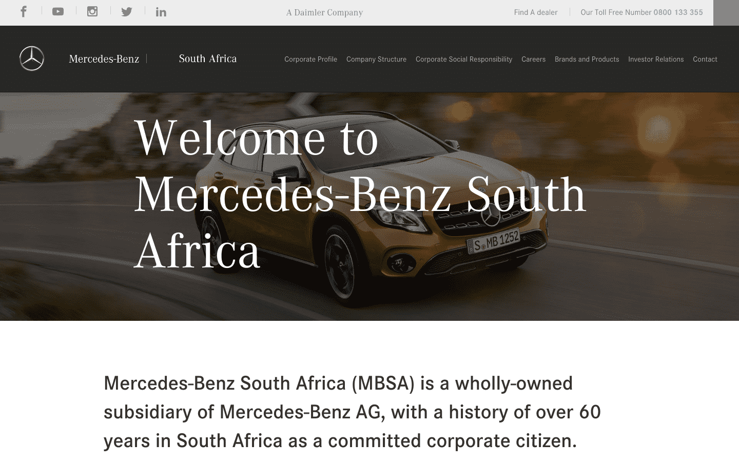 Mercedes Benz South Africa reviews and complaints