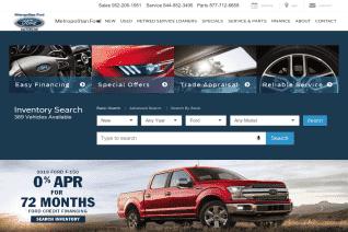 Metropolitan Ford reviews and complaints