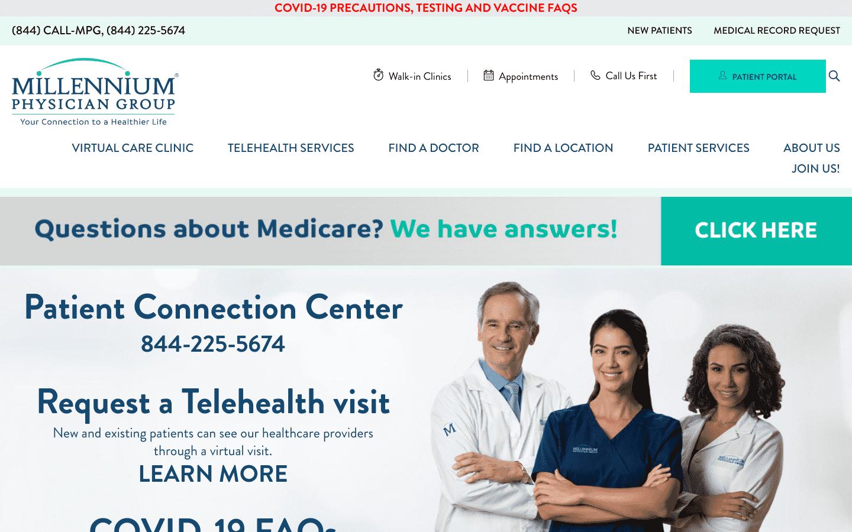 Millennium Physician Group reviews and complaints