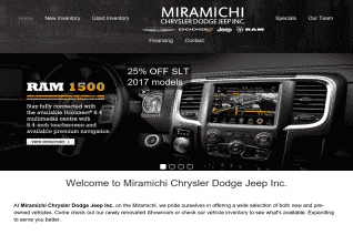 Miramichi Chrysler Dodge Jeep reviews and complaints