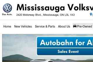 Mississauga Volkswagen reviews and complaints