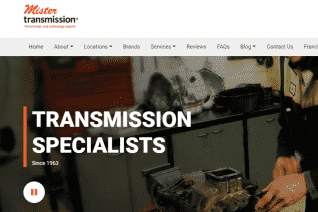 Mister Transmission reviews and complaints