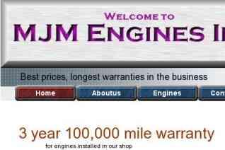 MJM Engines reviews and complaints