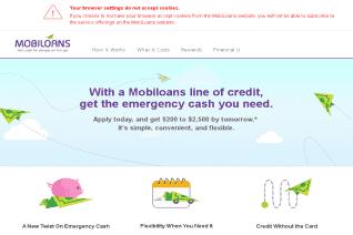 Mobiloans reviews and complaints