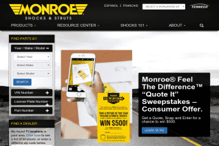 Monroe Shocks And Struts reviews and complaints