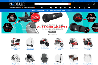 Monster Scooter Parts reviews and complaints