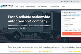 Montway Auto Transport reviews and complaints