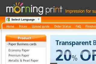 Morning Print reviews and complaints