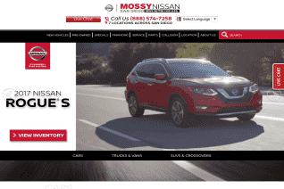 Mossy Nissan reviews and complaints