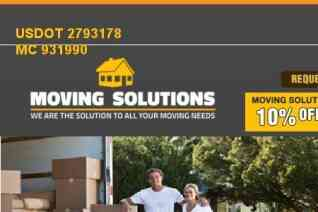 Moving Solutions reviews and complaints