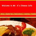 Mr Ks Chinese Cafe reviews and complaints