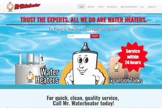 Mr Waterheater reviews and complaints