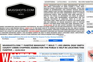 Mugshots reviews and complaints