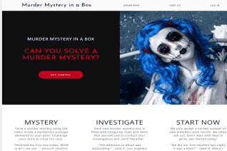 Murder Mystery in a Box reviews and complaints