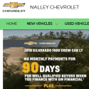 Nalley Chevrolet reviews and complaints