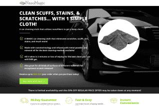 NanoMagic Cloth reviews and complaints