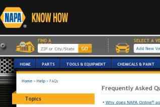 Napa Auto Parts reviews and complaints