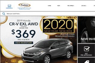 Napleton Loves Park Honda reviews and complaints