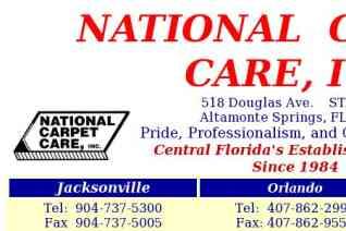 National Carpet Care reviews and complaints