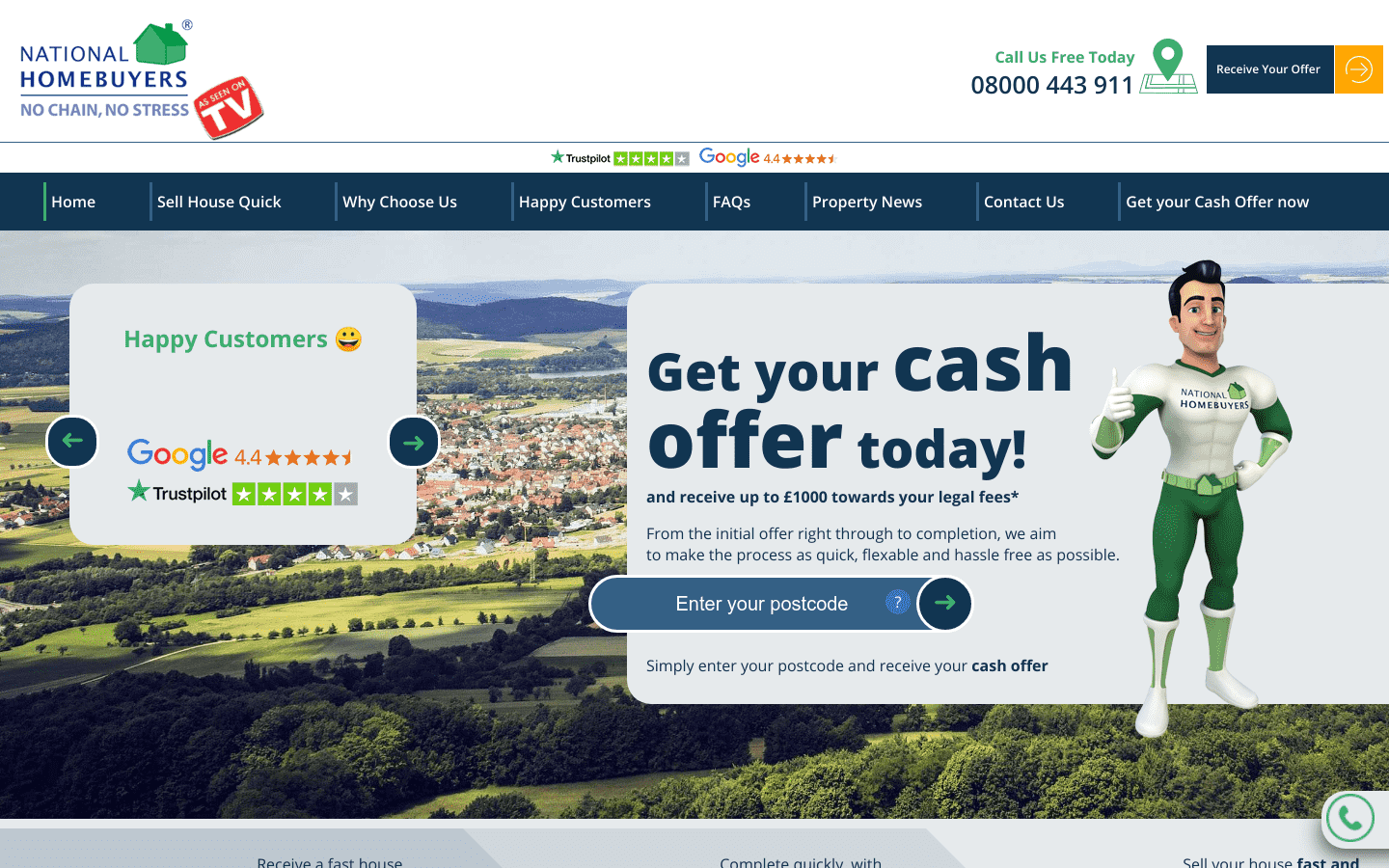 National Homebuyers UK reviews and complaints