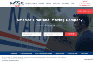 National Van Lines reviews and complaints