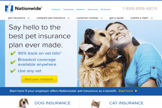 Nationwide Pet Insurance reviews and complaints