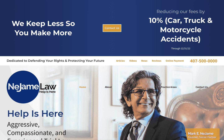 Nejame Law reviews and complaints