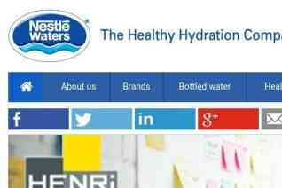 Nestle Waters reviews and complaints