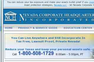 Nevada Corporate Headquarters reviews and complaints