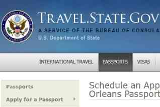 New Orleans Passport Agency reviews and complaints