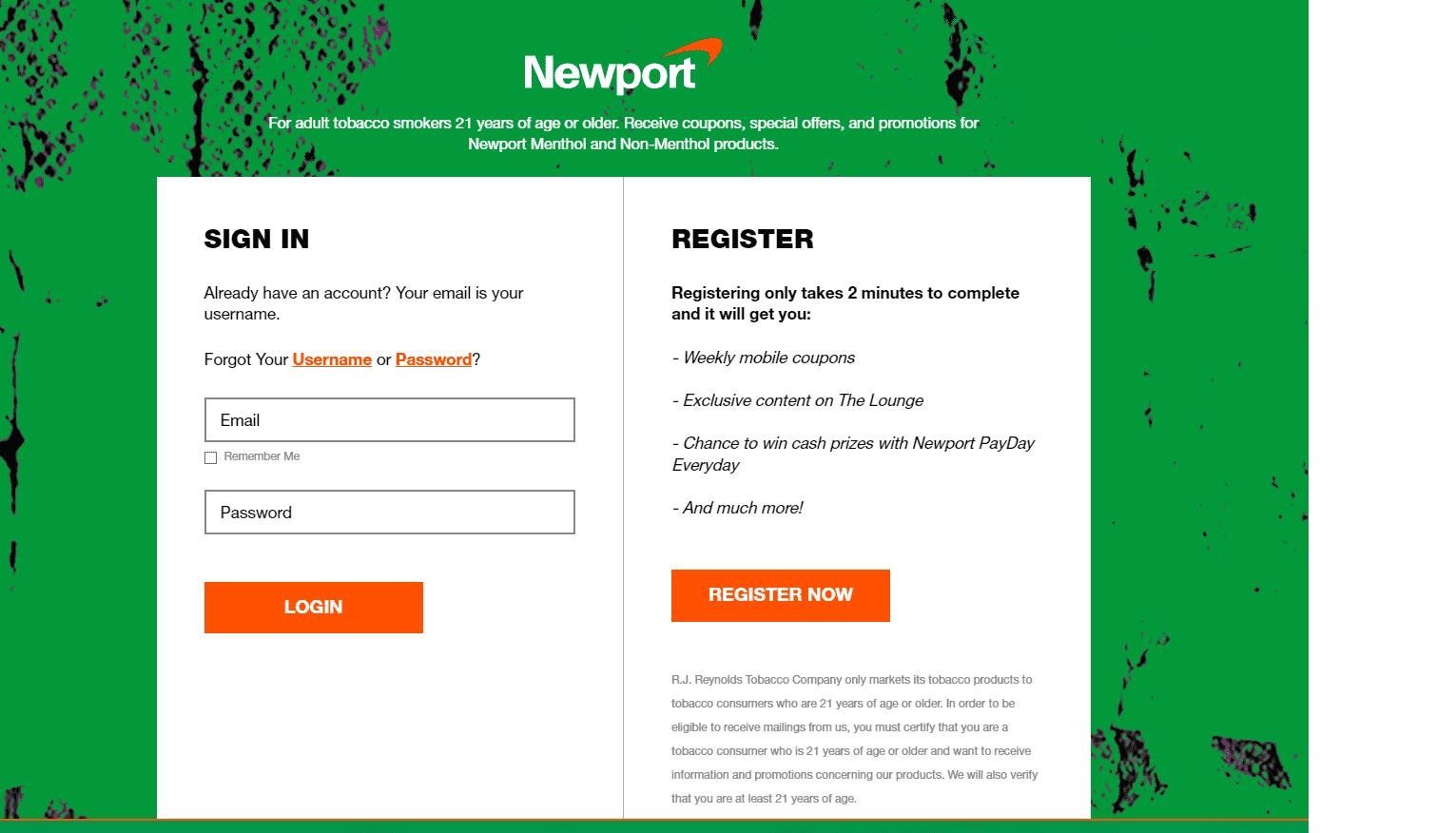 Newport Cigarettes reviews and complaints