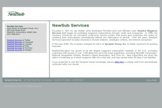NewSub Magazine Services reviews and complaints