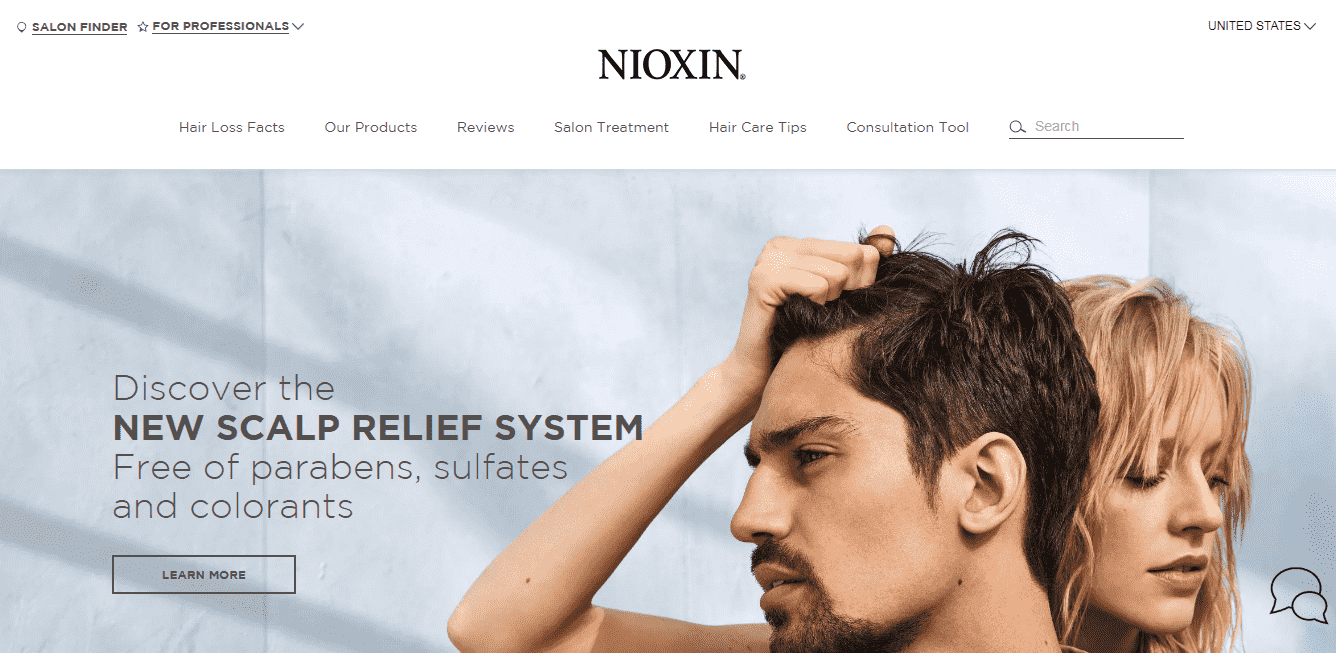 Nioxin reviews and complaints