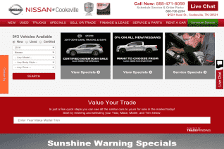 Nissan Of Cookeville reviews and complaints