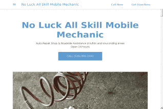 No Luck All Skill Mobile Mechanic reviews and complaints