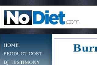 NoDiet reviews and complaints