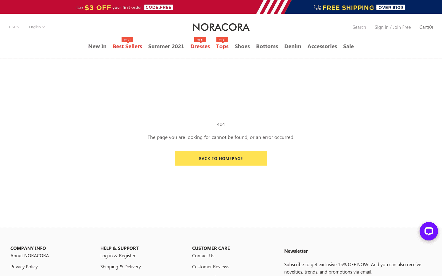 NORACORA reviews and complaints