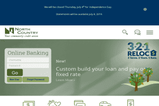 NorthCountry Federal Credit Union reviews and complaints