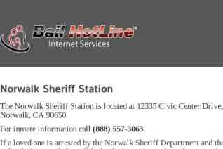 Norwalk Sheriffs Station reviews and complaints