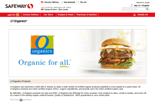 O Organics reviews and complaints